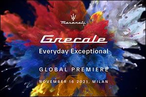 Milan, 16th November 2021: New Maserati Grecale Global Premiere
